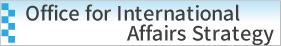 Office for International Affairs Strategy